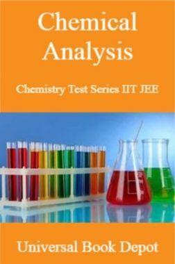 Chemical Analysis Chemistry Test Series IIT JEE