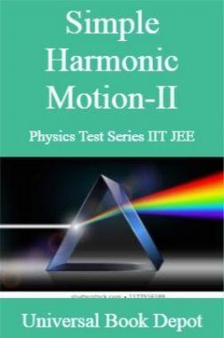Simple Harmonic Motion-II Physics Test Series IIT JEE