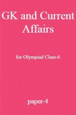 GK and Current Affairs For Olympiad Class-6 Test Prep-4