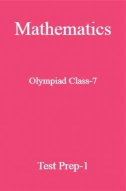 Mathematics Olympiad Class-7 Test Prep-1
