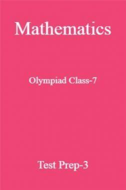 Mathematics Olympiad Class-7 Test Prep-3