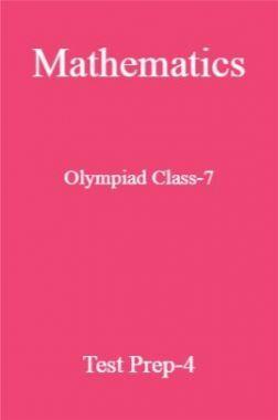 Mathematics Olympiad Class-7 Test Prep-4