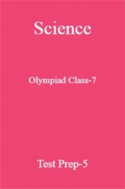 Science Olympiad Class-7 Paper-5