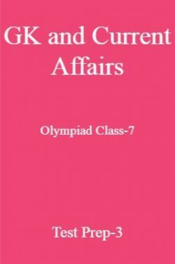 GK and Current Affairs For Olympiad Class-7 Test Prep-3