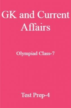 GK and Current Affairs For Olympiad Class-7 Test Prep-4