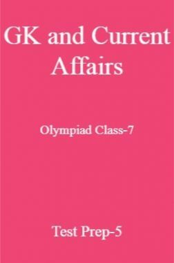 GK and Current Affairs For Olympiad Class-7 Test Prep-5