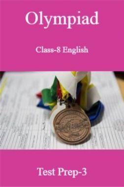 Olympiad Class-8 English Test Prep-3