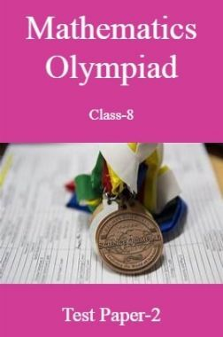 Mathematics Olympiad Class-8 Test Prep-2
