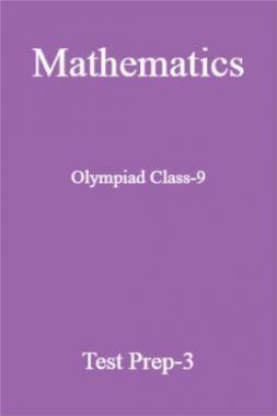 Olympiad Class-9 Mathematics Paper-3