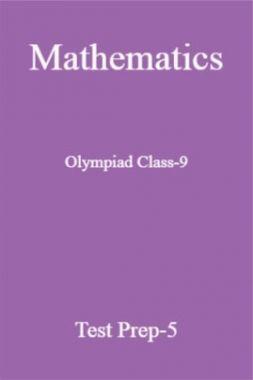 Olympiad Class-9 Mathematics Paper-5