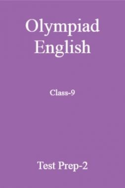 Olympiad English Class-9 Test Prep-2