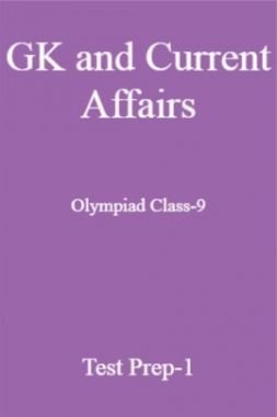 GK and Current Affairs For Olympiad Class-9 Test Prep-1