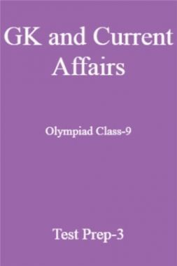 GK and Current Affairs For Olympiad Class-9 Test Prep-3