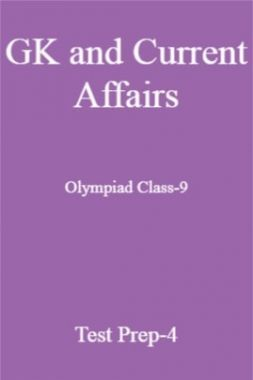 GK and Current Affairs For Olympiad Class-9 Test Prep-4