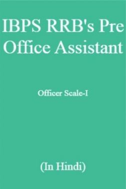 IBPS RRB's Pre Office Assistant, Officer Scale-I (In Hindi)