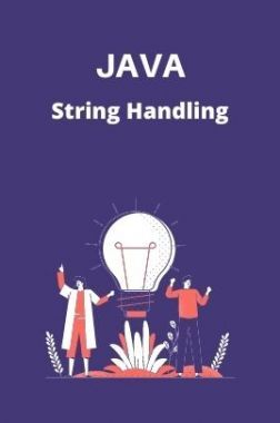 JAVA Test Prep - String Handling