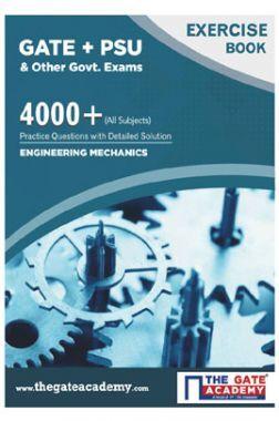 GATE + PSU Engineering Machanics Exercise Book