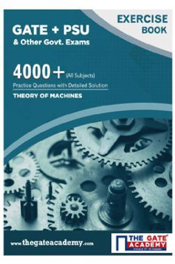 GATE + PSU Theory of Machines Exercise Book