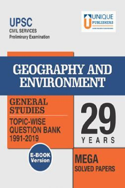 UPSC Prelims Exams Geography & Environment GS 29 Years Mega Solved Papers