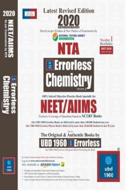 UBD 1960 Errorless Chemistry For NEET/AIIMS Latest 2020 Edition As Per Examination by NTA (Volume 2)