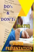 Examination Tips And Strategies - Mathematics Paper Presenation Tips