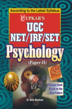 UGC-NET/JRF/SET Psychology (Paper-II)