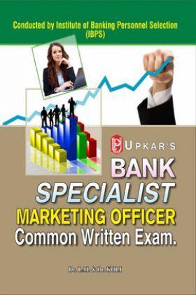 Bank Specialist Marketing Officer Common Written Exam