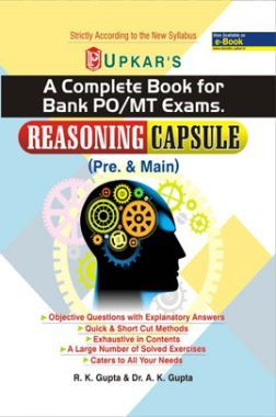 A Complete Book For Bank PO/MT Exams Reasoning Capsule (Pre & Main)