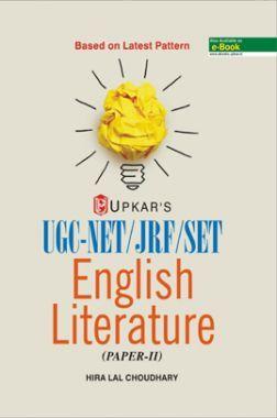UGC NET /JRF /SET English Literature (Paper-II)