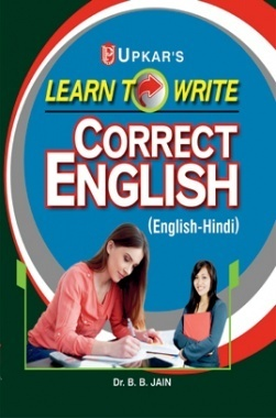 Download Learn to Write Correct English (Eng -Hindi) by Dr