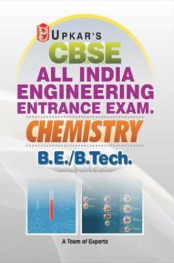 CBSE All India Engineering Entrance Exam. Chemistry B.E./B.Tech.
