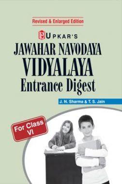 Navodaya Vidyalaya Entrance Digest For Class - VI