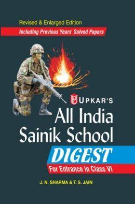 All India Sainik School Digest For Entrance In Class - VI