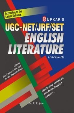 Download UGC Net JRF Set English Literature (Paper -II) by Dr  B  B