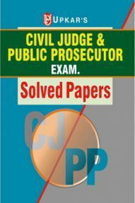 Civil Judge And Public Prosecutor Exam. Solved Paper