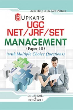 UGC NET/JRF/SET Management (Paper III) With Multiple