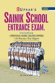 Sainik School Entrance Exam Class VI (New Edition)