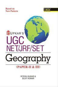 UGC NET /JRF /SET Geography (Paper-II & III)
