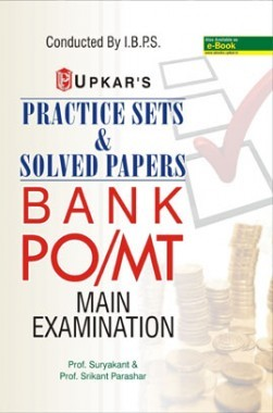Practice Sets & Solved Papers BANK PO /MT Main Examination