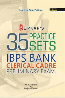 35 Practice Sets IBPS Bank Clerical Cadre Preliminary Exam.