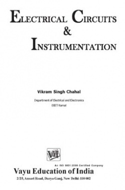 Electrical Circuits & Instrumentation By Vikram Singh Chahal