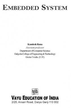Embedded System By Kamlesh Rana