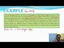 Audit And Assurance - Analytical Procedures Chapter-VIII Part III Video by Revantasuntech
