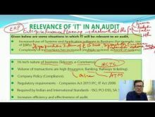 Audit And Assurance - Audit In A Automated Enviorment Chapter-VI Part II Video by Revantasuntech