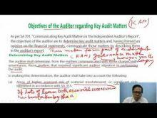 Audit And Assurance - Audit Report Chapter-XI Part V Video by Revantasuntech