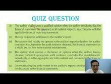 Audit And Assurance - Audit Report Chapter-XI Part VI Video by Revantasuntech
