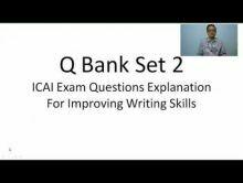 Audit And Assurance - Question Bank Set II Chapter-XIV Part I Video by Revantasuntech
