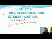 Audit And Assurance - Risk Assessment And Internal Control Chapter-IV Part I Video by Revantasuntech