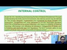 Audit And Assurance - Risk Assessment And Internal Control Chapter-IV Part III Video by Revantasuntech
