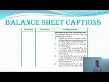Audit And Assurance - Audit Of Items Of Financial Statements Chapter-IXA Part III Video by Revantasuntech
